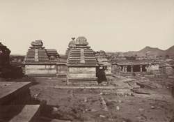 Beejanuggur. Group of temples. [Jain temples at Vijayanagara]